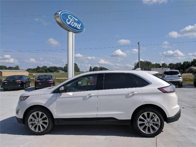 2018 Ford Edge Titanium All-wheel Drive SUV