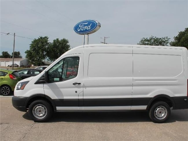 2018 Ford Transit-250 w/Sliding Pass-Side Cargo Door Medium Roof Cargo Van