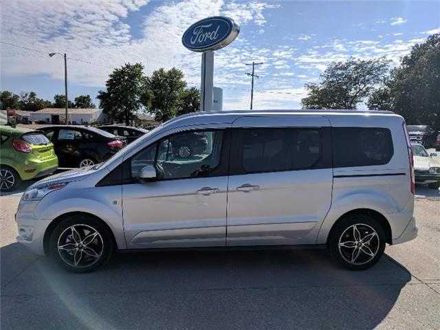 2018 Ford Transit Connect Titanium w/Rear Liftgate Passenger  LWB Wagon