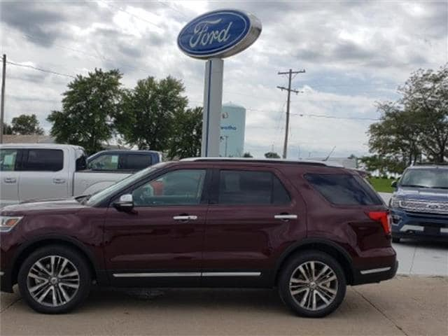 2018 Ford Explorer Platinum 4x4 SUV