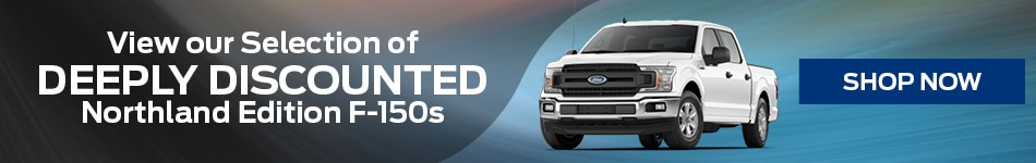 Deeply Discounted Northland Edition F-150s