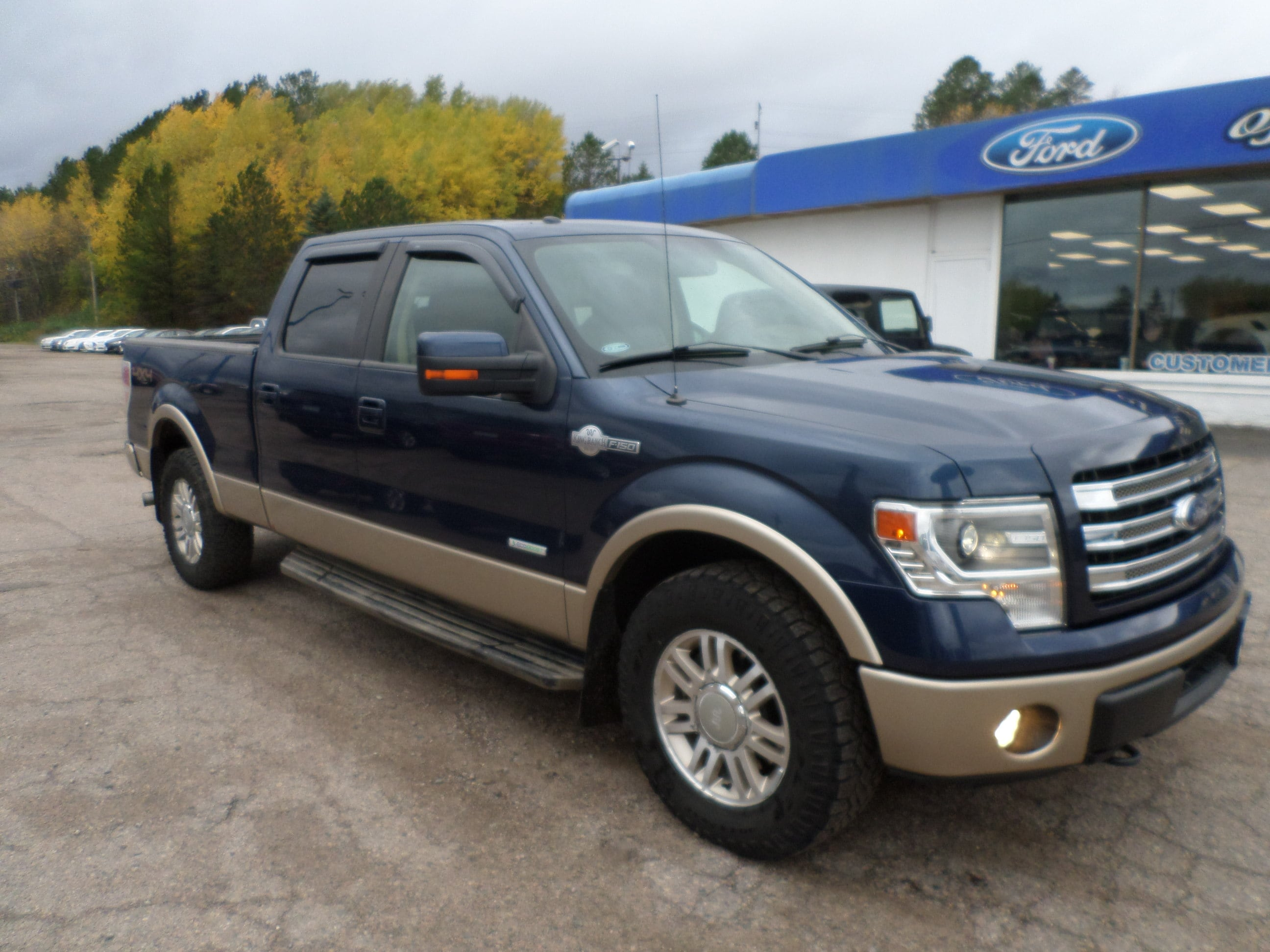 Used 2014 Ford F-150 King Ranch with VIN 1FTFW1ET9EKD32029 for sale in Hibbing, Minnesota