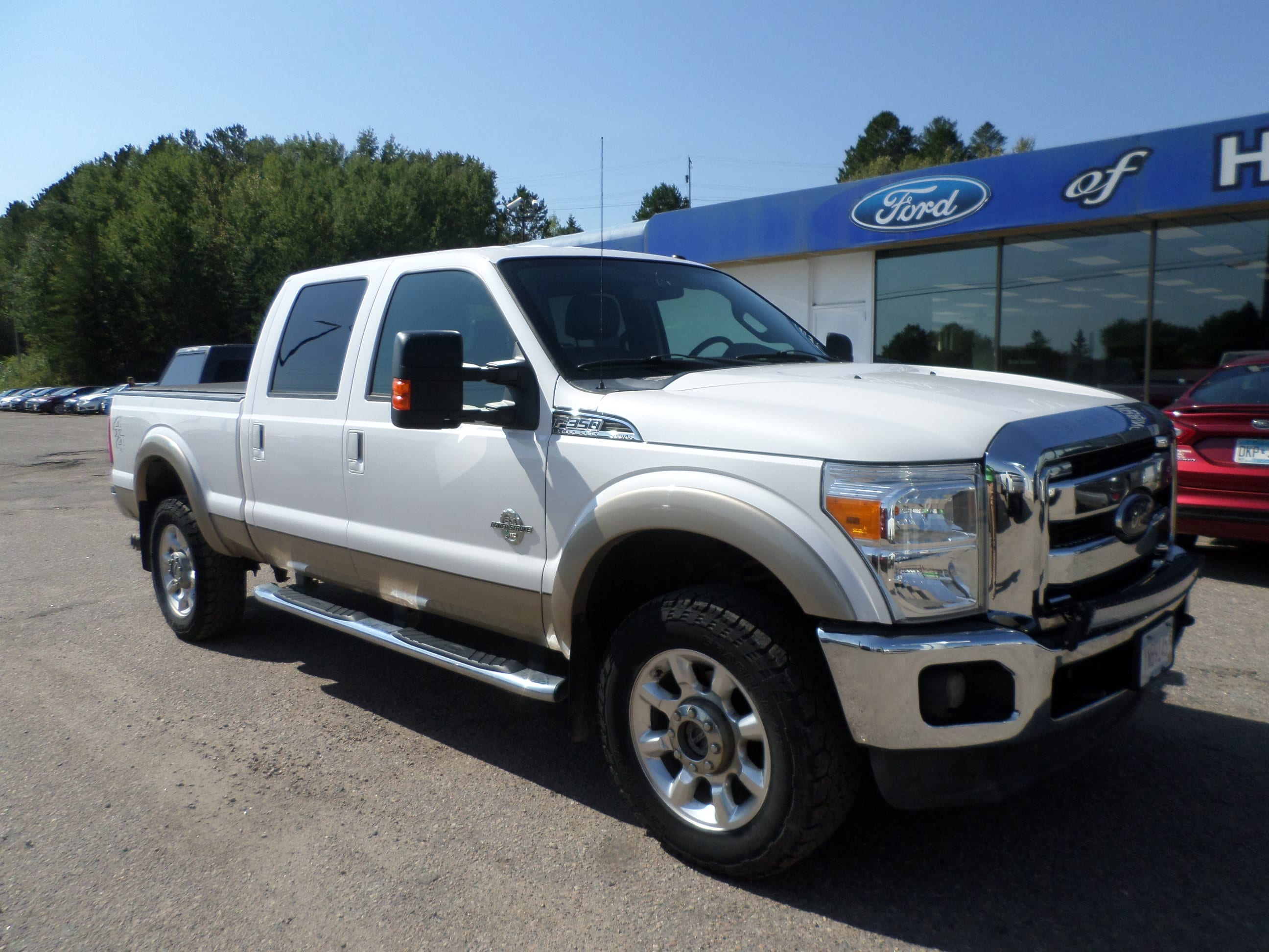 Used 2012 Ford F-350 Super Duty Lariat with VIN 1FT8W3BT2CEB58664 for sale in Hibbing, Minnesota