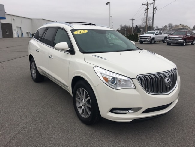 Used 2015 Buick Enclave Leather SUV For Sale Bluffton, Indiana