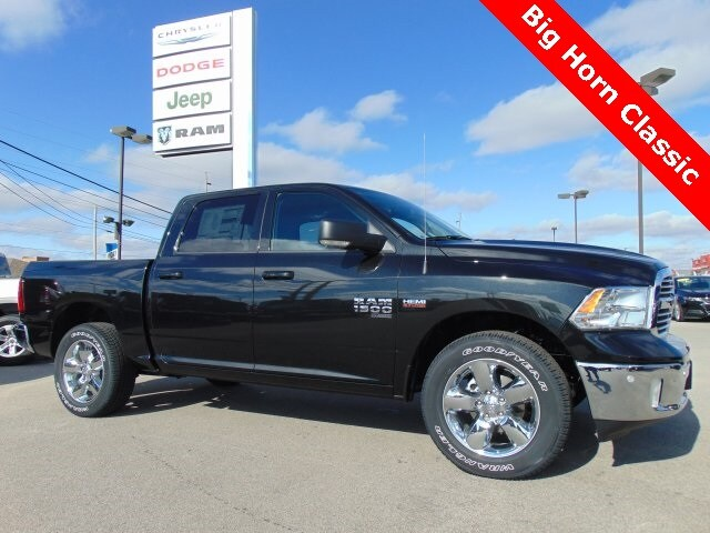 Featured New 2019 Ram 1500 Classic BIG HORN CREW CAB 4X4 5'7 BOX Crew Cab for sale in Bluffton, IN