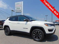 New 2018 Jeep Compass TRAILHAWK 4X4 Sport Utility 18193 for sale in Bluffton, IN