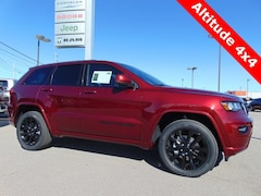 New 2019 Jeep Grand Cherokee ALTITUDE 4X4 Sport Utility 19031 for sale in Bluffton, IN
