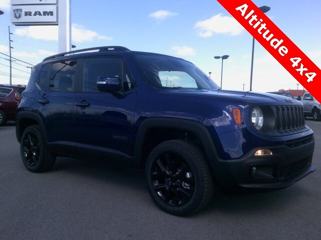 Featured New 2018 Jeep Renegade ALTITUDE 4X4 Sport Utility for sale in Bluffton, IN