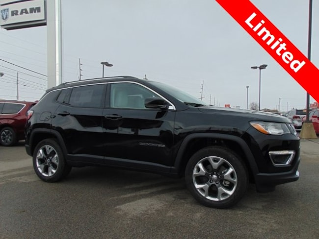 New 2019 Jeep Compass LIMITED 4X4 Sport Utility in Bluffton, IN