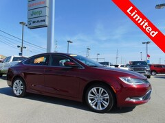 Certified Pre-Owned 2015 Chrysler 200 Limited Sedan Dealer - inventory