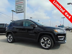 New 2019 Jeep Compass LIMITED 4X4 Sport Utility for sale in Bluffton, IN