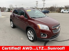 Certified Pre-Owned 2016 Chevrolet Trax LTZ SUV Dealer - inventory