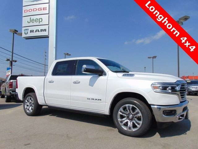 Featured New 2019 Ram All-New 1500 LARAMIE LONGHORN CREW CAB 4X4 5'7 BOX Crew Cab for sale in Bluffton, IN