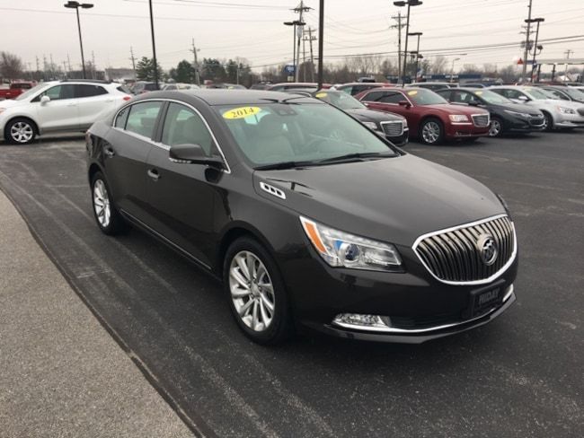 Used 2014 Buick LaCrosse Leather Group Sedan For Sale Bluffton, Indiana