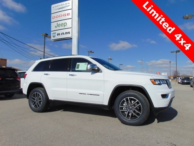 New 2019 Jeep Grand Cherokee LIMITED 4X4 Sport Utility in Bluffton, IN