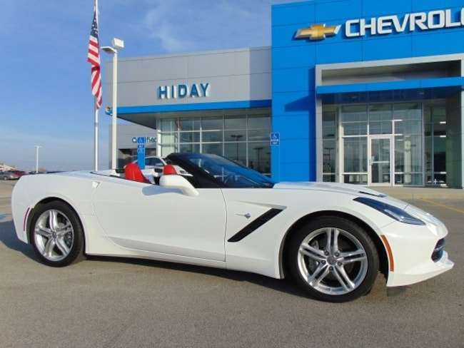 Used 2017 Chevrolet Corvette Stingray Convertible For Sale Bluffton, Indiana