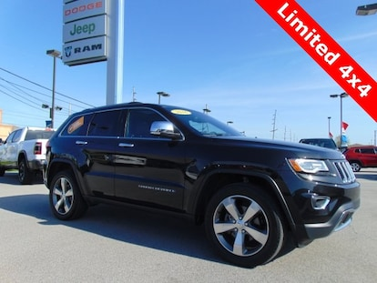 Jeep Certified Pre Owned >> Certified Pre Owned 2016 Jeep Grand Cherokee Limited 4x4 Bluffton In Vin 1c4rjfbg3gc434732