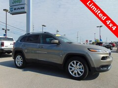 2016 Jeep Cherokee Limited 4x4 SUV for sale near you in Bluffton, IN