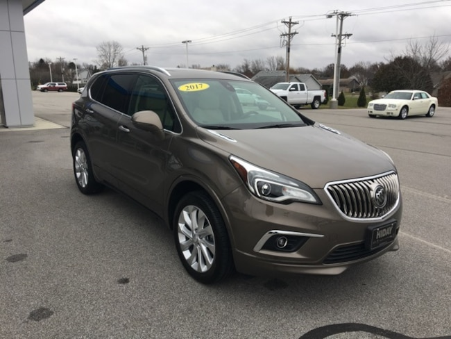 Used 2017 Buick Envision Premium II SUV For Sale Bluffton, Indiana