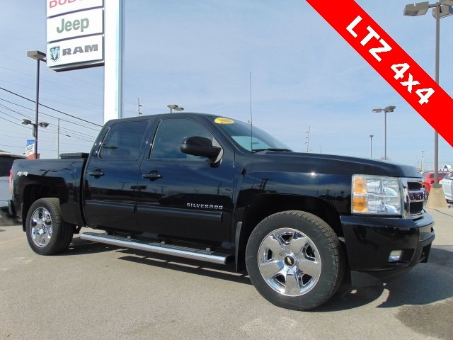 Featured Used 2011 Chevrolet Silverado 1500 LTZ Truck Crew Cab for sale in Bluffton, IN