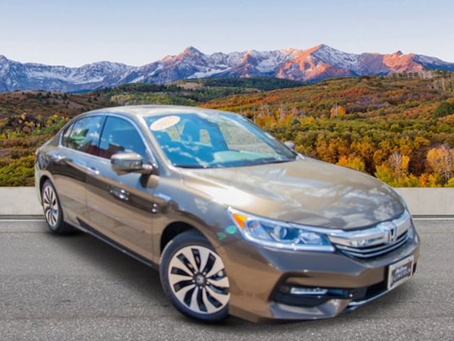 Used 2017 Honda Accord Hybrid EX-L Sedan Glenwood Spings, CO