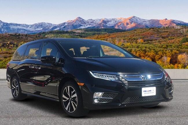 New 2018 Honda Odyssey Elite Van Glenwood Spings, CO