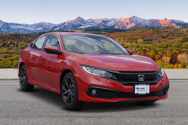 New 2019 Honda Civic Sport Sedan Glenwood Spings, CO