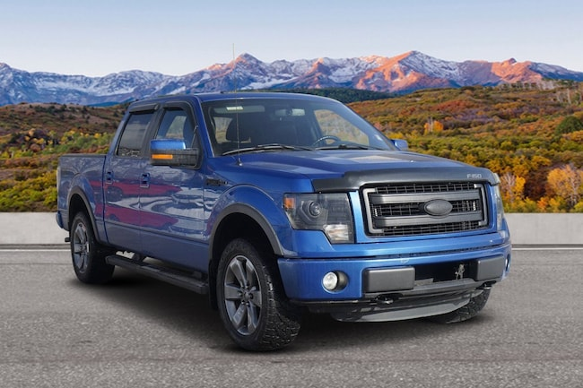 Used 2013 Ford F-150 4WD SuperCrew 145 FX4 Glenwood Spings, CO