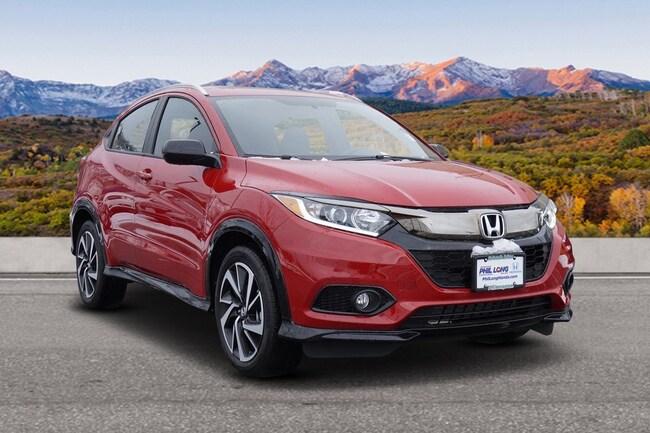 New 2019 Honda HR-V Sport AWD SUV Glenwood Spings, CO