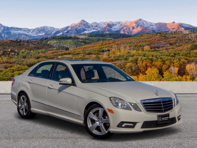 Used 2011 Mercedes-Benz E-Class E 350 4MATIC Sedan Glenwood Spings, CO