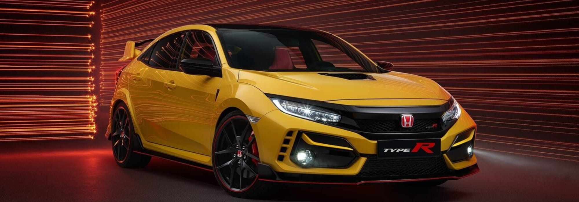 2021 Honda Civic Type R Limited Edition exterior hero image