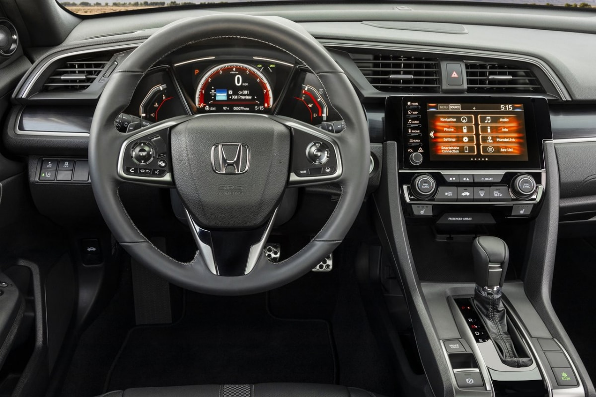 2020 Honda Civic interior front cabin dashboard