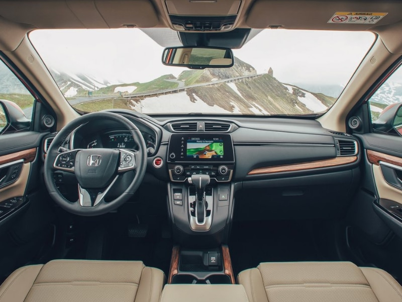 Interior of a 2019 Honda CR-V