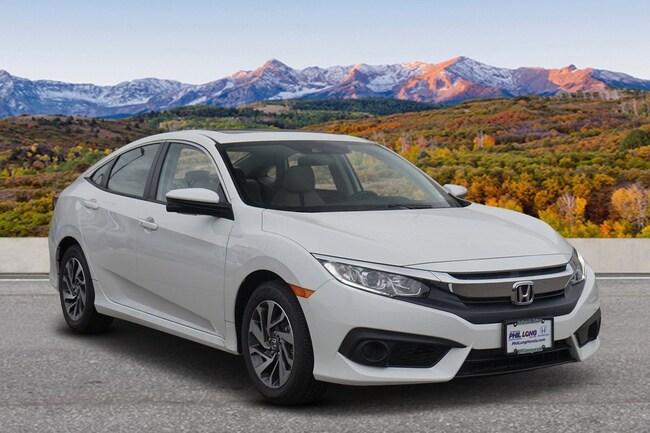 New 2018 Honda Civic EX w/Honda Sensing Sedan Glenwood Spings, CO