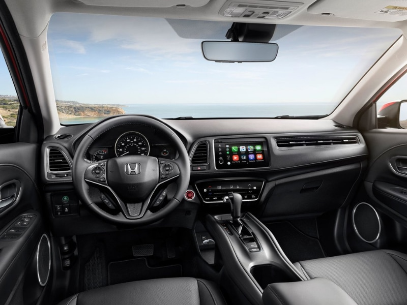 Interior view of a 2019 Honda HR-V
