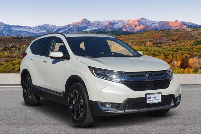 New 2018 Honda CR-V Touring AWD SUV Glenwood Spings, CO