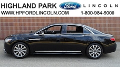 Used 2017 Lincoln Continental Livery Sedan