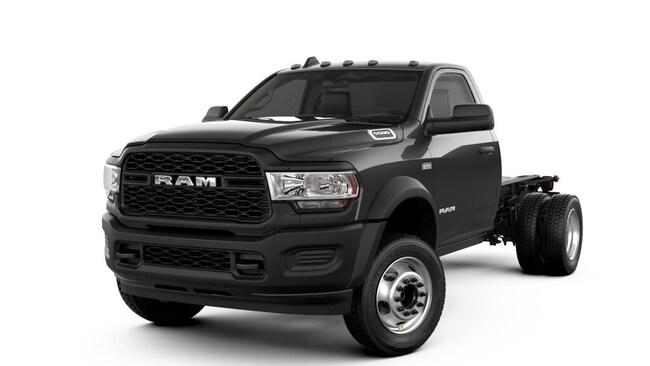 2019 Ram 5500 TRADESMAN CHASSIS REGULAR CAB 4X4 144.5 WB Regular Cab