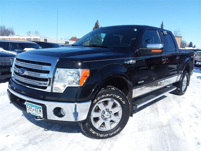 2013 Ford F-150 Lariat 4x4 4dr Supercrew Styleside 5.5 ft. SB Pickup Truck