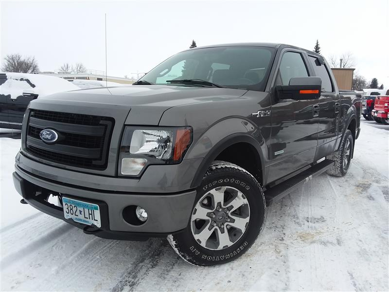 2013 Ford F-150 FX4 4x4 4dr Supercrew Styleside 5.5 ft. SB Pickup Truck