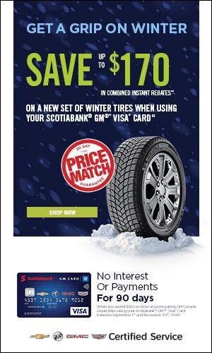 Fall/Winter Tire Campaign