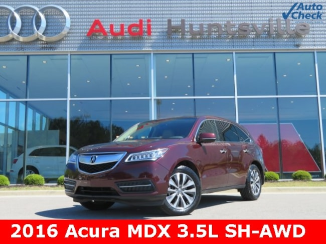 Used 2016 Acura MDX MDX SH-AWD with Technology Package SUV for sale in Huntsville, AL at Hiley Volkswagen of Huntsville