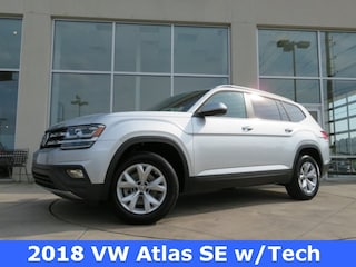 New 2018 Volkswagen Atlas 3.6L V6 SE w/Technology SUV for sale in Huntsville, AL at Hiley Volkswagen of Huntsville
