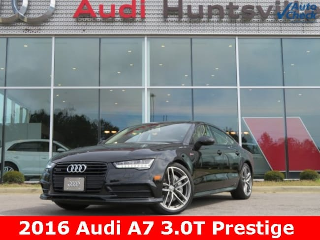 Used 2016 Audi A7 3.0T Premium Plus Sedan for sale in Huntsville, AL at Hiley Volkswagen of Huntsville