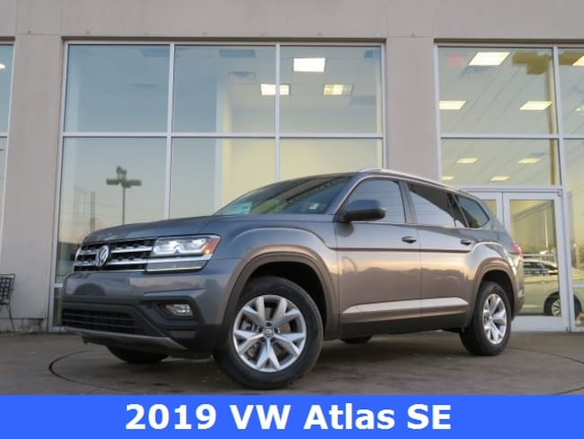 New 2019 Volkswagen Atlas 3.6L V6 SE SUV for sale in Huntsville, AL at Hiley Volkswagen of Huntsville