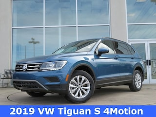 New 2019 Volkswagen Tiguan 2.0T S 4MOTION SUV for sale in Huntsville, AL at Hiley Volkswagen of Huntsville