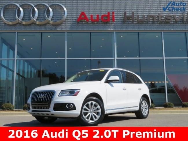 Used 2016 Audi Q5 2.0T Premium SUV for sale in Huntsville, AL at Hiley Volkswagen of Huntsville