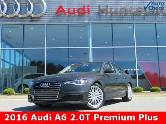 Used 2016 Audi A6 2.0T Premium Sedan for sale in Huntsville, AL at Hiley Volkswagen of Huntsville