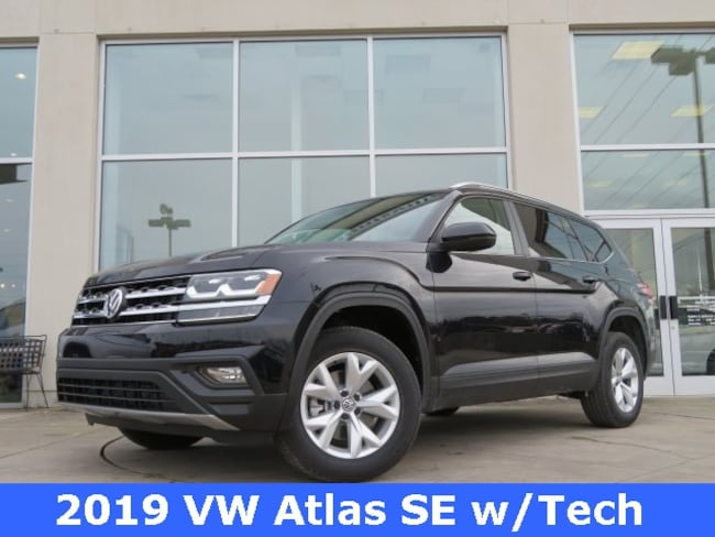 New 2019 Volkswagen Atlas 3.6L V6 SE w/Technology SUV for sale in Huntsville, AL at Hiley Volkswagen of Huntsville