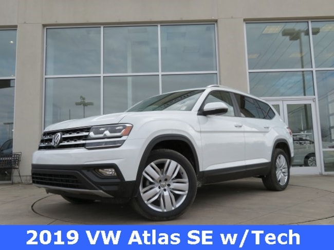 New 2019 Volkswagen Atlas 3.6L V6 SE w/Technology 4MOTION SUV for sale in Huntsville, AL at Hiley Volkswagen of Huntsville